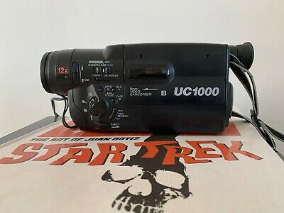 CANON UC1000 ANALOGUE CAMCORDER (8mm Video 8 Playback)