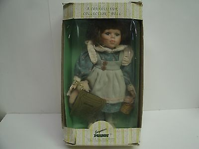 "12"" Seymour Mann Connoisseur Collection Porcelain Doll ""Erin"""