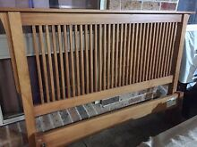 Freedom timber Queen bed with mattress Plumpton Blacktown Area Preview