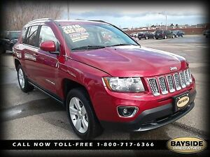 2016 Jeep Compass HIGH ALTITUDE 4X4 LEATHER SUNROOF