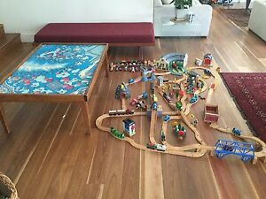 Thomas the Tank Engine Set and Table Freshwater Manly Area Preview