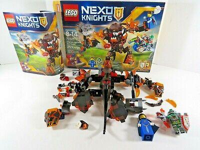 LEGO Nexo Knights Infernox Captures the Queen 70325 Box 2 Minifigures A7877