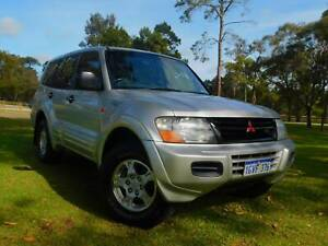 2002 Mitsubishi Pajero GLS ** 7 SEATER 4WD ONE OWNER ** PRICED TO GO!! Rockingham Rockingham Area Preview
