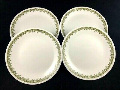 Set of 4 Corelle Dinner Plates 10 1/4