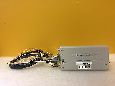 Agilent Hp N4484a 0.3 To 6 Ghz For N4483a Mismatch Noise Source Cables