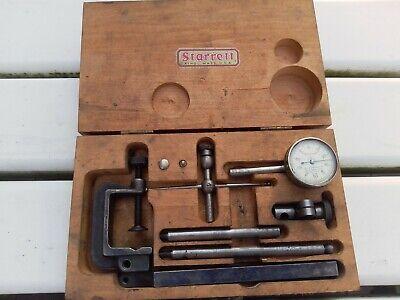 Starrett Dial Test Indicator No. 196a - Original Packaging