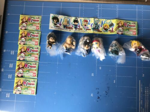 "Fullmetal Alchemst,HagaRen Swing Part.2,""All 6 Key-chain Figures Complete Set"""