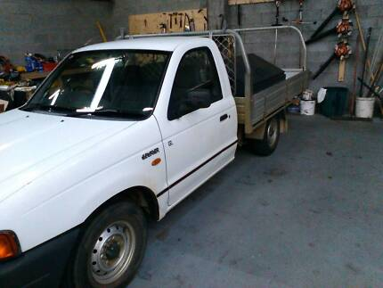 2002 ford courier 2wd ute Claremont Nedlands Area Preview