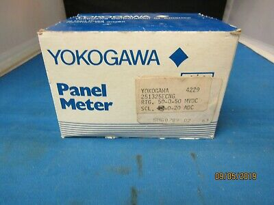 Yokogawa Panel Meter 255324ecng1