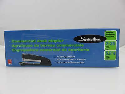 Swingline Commercial Desk Stapler Model 44401 Black All Metal New Lot Of Two