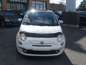 2012 Fiat 500 Lounge/BOSE/PANO ROOF/RED LEATHER