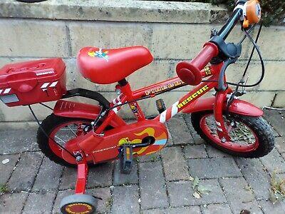 Pre School Fireman Sam Bike