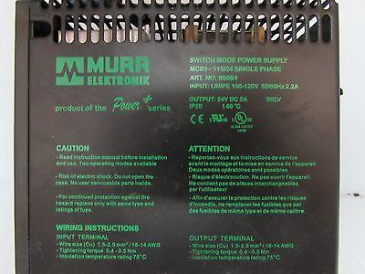 Murr Elektronik Switch Mode Power Supply Mcs5-11524 Single Phase