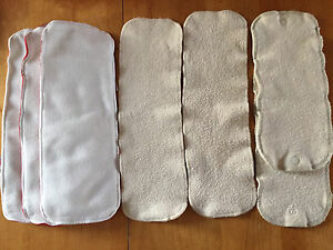 Cloth diaper inserts