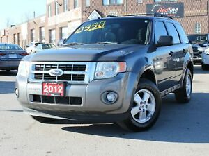 2012 Ford Escape XLT V6 4WD Leather-Bluetooth