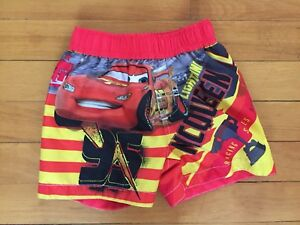 Disney Cars 6-9 month swim shorts