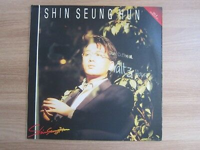 Shin Seung Hun  2nd Album 1991 Korea Orig LP K POP