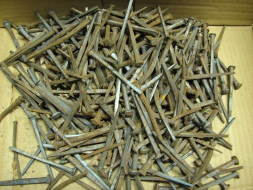 5 lbs Antique Slight Rose Head Square Nails 2 1/2""