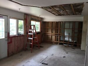 Any skill level drywall, painting or carpentry