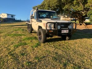 2009 Toyota Landcruiser Workmate (4x4) 5 Sp Manual C/chas
