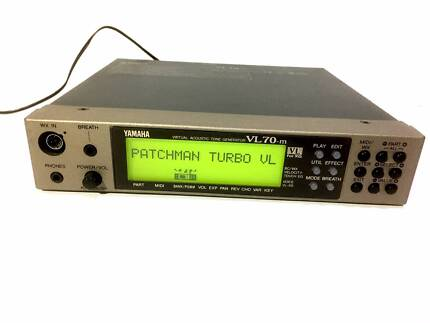 Yamaha VL70-m Acoustic Tone Generator with Patchman Turbo VL