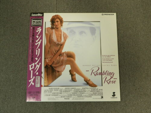 Rambling Rose - Laser Disc - OBI JAPAN LD