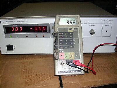 Agilent-hp-6011a-dc-power-supply-0-20vdc- 0-120a Power Cord 1000 Watts