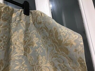 Material Vintage Gold Pattern Heavy Material Single Curtain