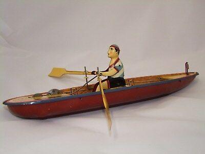 Ruderboot limitiert  Blechspielzeug  Jaya Nr 0795 Boot Blech Spielzeug