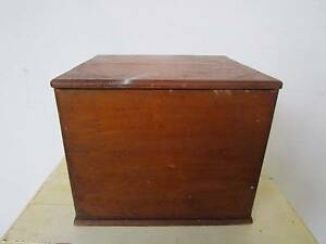 C50046 Vintage Rustic Timber Lidded Storage Box 2 AVAILABLE Mount Barker Mount Barker Area Preview