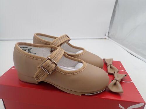 Capezio  Toddler-girls 3800 Mary Jane Tap Shoe , Caramel, 9 M Toddler