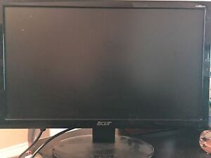 19.5 inch widescreen aver computer monitor