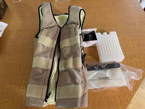 CompCooler Vest Personal Ice Cooling System with extra Bladder