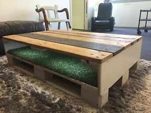 Rustic handmade coffee table Biggera Waters Gold Coast City Preview