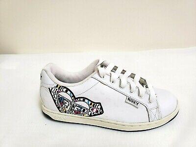 New! Women's Roxy Big Heart Model Sneaker - White (Model Womens)