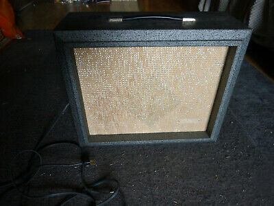 Vintage 1962 Silvertone 1481 Amplifier, Hohner, Fender guitar,amplifier.