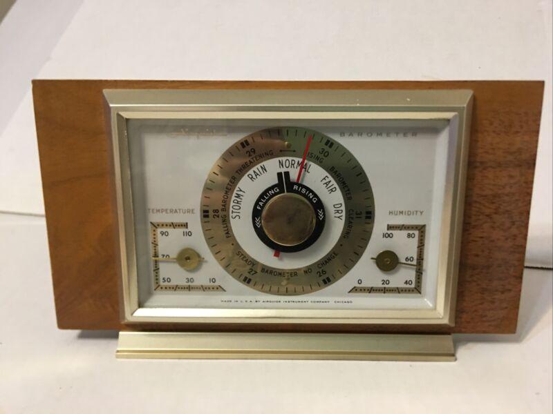 Vintage Tabletop Airguide Barometer