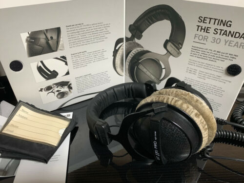 Beyerdynamic DT770 PRO 250 Ohm Over the Ear Studio Headphones - Grey (FOR PARTS)