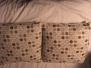 Green Polkadot Pillows