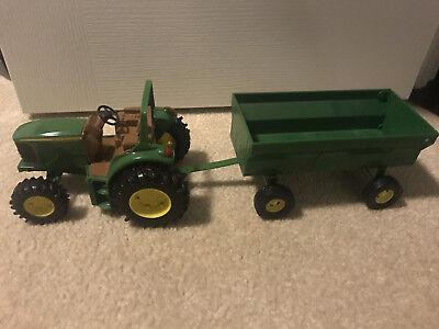 John Deere Utility Tractor w/ Trailer
