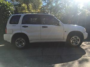 Suzuki Grand Vitara 98 manual 4 cylinder has rego & Rwc Noosaville Noosa Area Preview