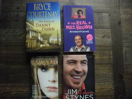 Books all 4 for $10