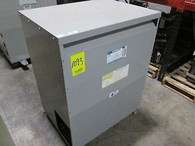 Siemens Type Ql Transformer 3f3y225 225kva Pri 480v Sec 120v Cutout On Side
