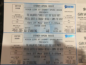 2 Avalanches tickets Wentworth Falls Blue Mountains Preview