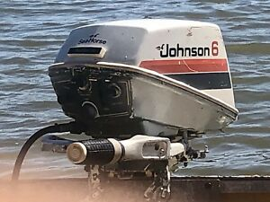 Johnson 6hp Outboard Engine