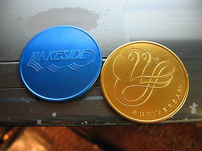 lakeside mall 22 anniversary new orleans Doubloon mardi gras rare vintage (New Orleans Mall)