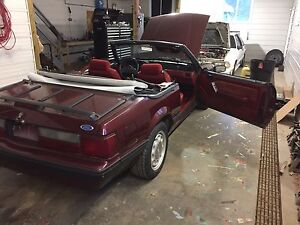 1989 mustang convertible must go