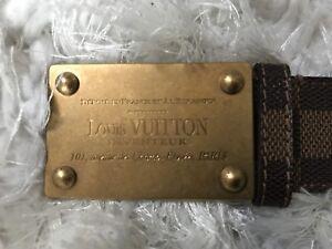 """Louis vuitton men belt monogram """"authentic"""""""