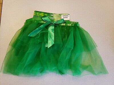 Green TuTu Great for Halloween or St. Patrick's Day New Adult Size](Saints Costumes For Halloween)