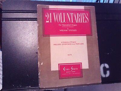 William Stickles: 24 Voluntaries for Organ, organ  (Smith)